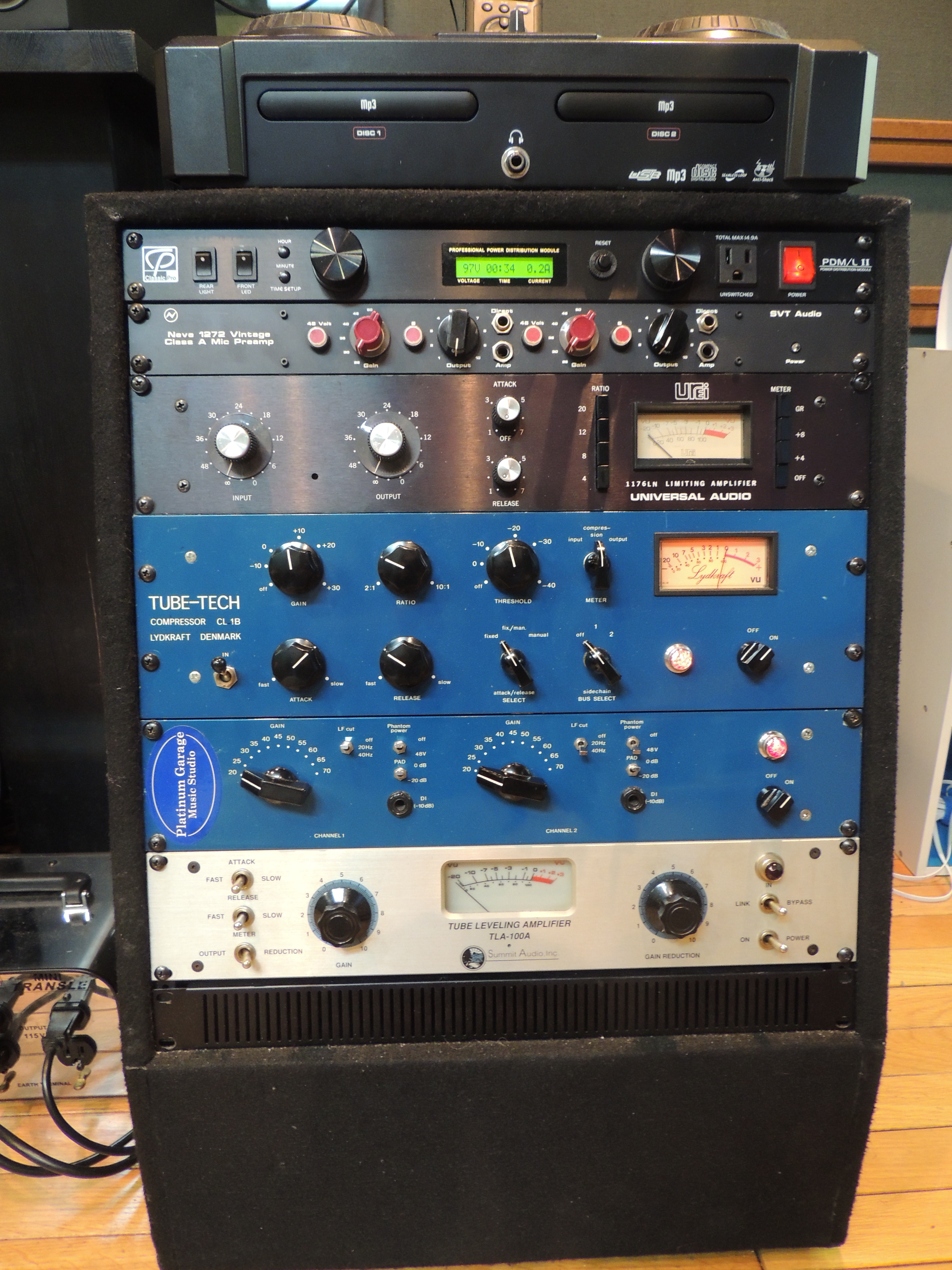 PlatinumGarage Tubetech neve 1176